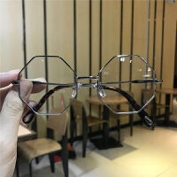 儿童平光镜个性男女童装饰眼镜框潮流
