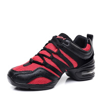 春夏新款增高跳舞鞋女广场舞蹈鞋运动鞋
