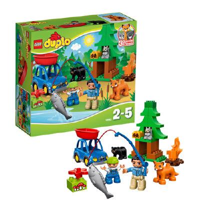[当当自营]LEGO 乐高 duplo得宝系列 森林主题:垂钓之旅 积木拼插儿童益智玩具 10583【当当自营】适合2-5岁,32pcs小颗粒积木