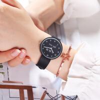 新款韩版小清新手表女时尚简约可爱中学生儿童潮流女石英表
