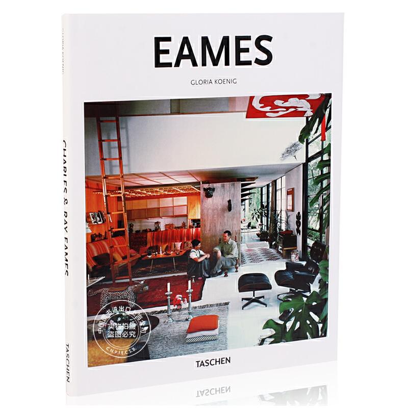 [现货]Eames 伊姆斯夫妇艺术设计作品集 英文原版 家居与室内设计大师 Taschen Basic Art 2.0 塔森 艺术基础系列 进口原版 ba-Arch, Eames-GB
