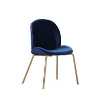 电脑椅书房时尚甲壳虫餐椅设计师创意时尚简约北欧工业风金属网红椅ins电脑椅子创意书桌椅