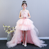 花童公主裙女童蓬蓬��和�晚�Y服�琴演出服