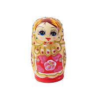 俄罗斯特色5层套娃哈尔滨旅游工艺品儿童益智玩具家居摆件