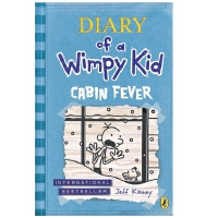 [现货]英文原版 小屁孩日记6 Cabin Fever 幽居病 Diary of a Wimpy Kid 第6册