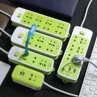 USB充�插座排插�ч_�P�源延�L�插排插�板插板拖�板家用