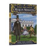 【顺丰包邮】英文进口原版神奇树屋47:林肯 Magic Tree House #47 Abe Lincoln at L