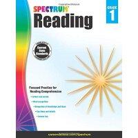 Spectrum Reading Workbook, Grade 1 英文原版 Spectrum 阅读,1年级