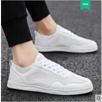 男鞋韩版潮流小白鞋百搭学生运动休闲跑步鞋户外新品网红同款新款透气布鞋白鞋