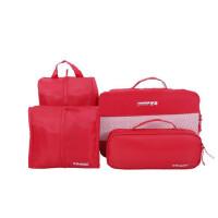 4件套装旅行拉杆箱行李箱包洗漱包男女士衣物袋收纳整理袋