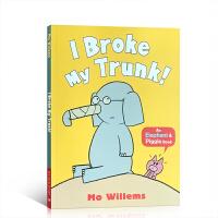 【顺丰速运】英文进口原版小猪小象系列 I Broke My Trunk! 鼻子折了3-6岁儿童启蒙图画故事绘本 吴敏兰