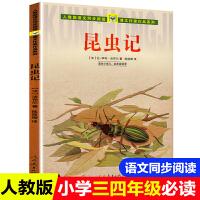 昆虫记 法布尔正版三年级上册小学生四五六年级课外书必读人教版上册 老师推荐阅读入选语文教材书目畅销童书