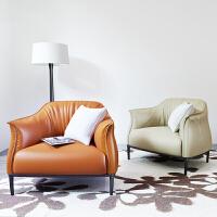 单人沙发 北欧现代简约懒人沙发椅迷你可爱设计师创意家具沙发椅