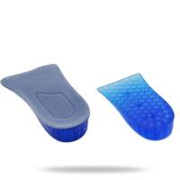 男鞋垫女鞋垫双层内增高鞋垫运动2层增高硅胶高弹力鞋垫半垫