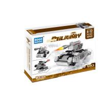 变形积木拼插组装汽车飞机模型合体玩具航空母舰6合1