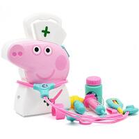 【满199立减100】小猪佩奇Peppa Pig粉红猪小妹佩佩猪男女孩儿童过家家玩具医生手提盒