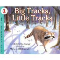 Big Tracks, Little Tracks (Let's Read and Find Out) 自然科学启蒙1
