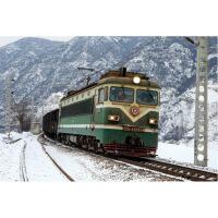 跨越火车模型 铜车 SS1 韶山1型电力机车 ho比例 模型 销售中
