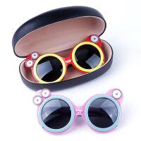 儿童墨镜夏季出游女童宝宝太阳镜档阳光偏光眼镜小孩户外遮阳镜潮