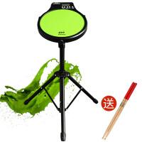 哑鼓垫12寸电子节拍器套装初学入门架子鼓练习打击板儿童初学 12英寸