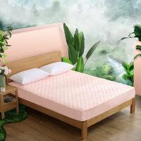 【1件5折】水星家纺 爱丽雅抗菌床护垫 薄款床垫垫子床笠式防滑保护垫