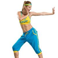 广场舞服装健身操服 女套装健美操套装瑜伽服女士休闲运动服