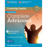 【预订】Complete Advanced Student's Book Pack (Student's Book w