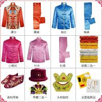 寿衣女士全套殡葬用品真丝纯棉老年人冲喜七件套唐装现代装死人服