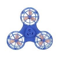 飞行指尖陀螺手指回旋飞行器指间飞机悬空会飞减压玩具自电动旋转
