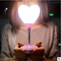 小夜灯婴儿喂奶l充电心形少女节能可爱床头台灯送女生礼物