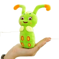 糖宝 可爱糖宝毛绒玩具公仔灵虫创意玩偶毛毛虫布娃娃女友儿童礼物