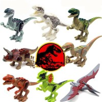 兼容乐高积木恐龙暴龙霸王龙侏罗纪男孩拼装积木启蒙玩具