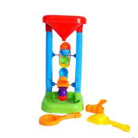 玩水玩具 儿童沙滩玩具大号沙漏玩具玩沙挖沙双轮水车决明子玩具