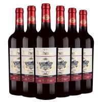 法国小苔思藤精酿干红葡萄酒750ml*6 【包邮】整箱特惠 张裕先锋原瓶进口