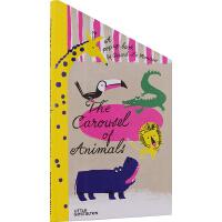 英文原版 The Carousel of Animals 动物旋转木马 3D创意立体书 想象力 儿童亲子互动绘本
