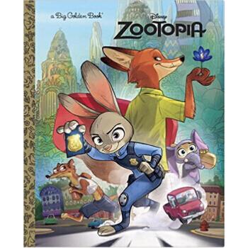【现货】 疯狂动物城 英文原版书 zootopia big golden book (disney