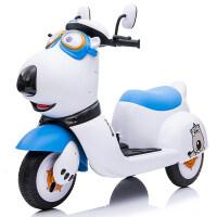 儿童电动摩托车宝宝三轮车男女小孩玩具车可坐人大号电瓶车
