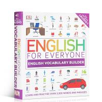 【全店满300减100】DK 儿童工具百科书 英文原版English for Everyone: English Voc