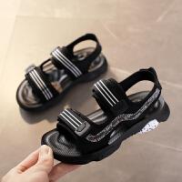 男童凉鞋夏季儿童凉鞋男童鞋中大童男孩沙滩鞋软底
