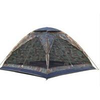 新款韩版休闲户外帐篷 野营帐篷 3-4人休闲迷彩帐篷 家庭帐篷