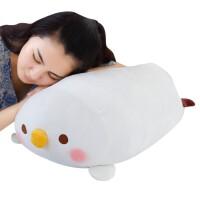 软体暖手抱枕布娃娃女可爱枕头手捂毛绒玩具女生抱着睡觉的公仔 鸡