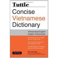 【预订】Tuttle Concise Vietnamese Dictionary: Vietnamese-Englis