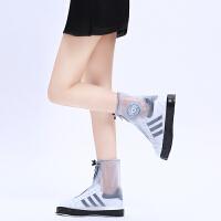 时尚防水鞋套防水男女加厚防滑耐磨鞋套户外学生防雨鞋套