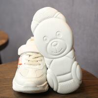 �和��\�有�小熊底休�e鞋男童女童老爹鞋�W面夏季款童鞋