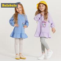 巴拉巴拉童装女童套装儿童衣服春季2019新款小童宝宝韩版两件套潮