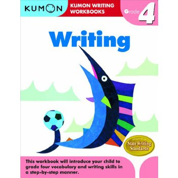 【预订】Writing, Grade 4 美国库房发货,通常付款后3-5周到货!