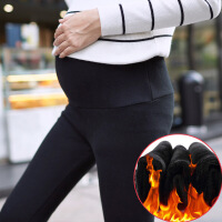 2019新款秋冬季孕妇裤裤羊毛加绒加厚打底外穿保暖裤加长裤子