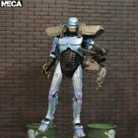 NECA机械机器战警铁甲威龙墨菲飞行器阻击枪7寸可动人偶模型 手枪 2把 阻击枪 1把 飞行器 1个 支加 1个