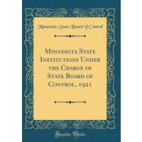 【预订】Minnesota State Institutions Under the Charge of State