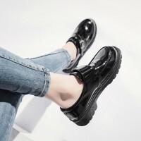 户外时尚英伦风复古小皮鞋女百搭厚底单鞋学生女鞋乐福鞋
